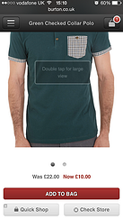 Ecommerce mobile UX