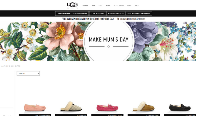 ugg mother's day gift guide