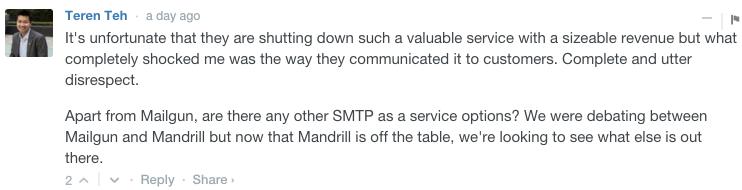 Mandrill update