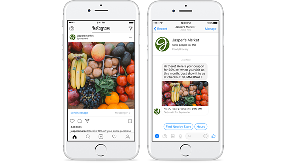 Instagram ads for ecommerce marketers click to messenger ads