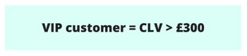 VIP customer ecommerce