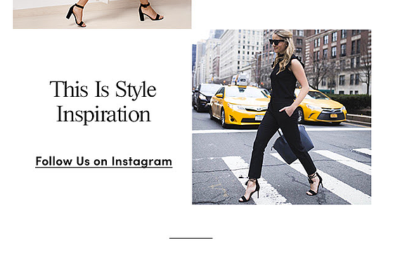 welcome email example ecommerce brand Ann Taylor