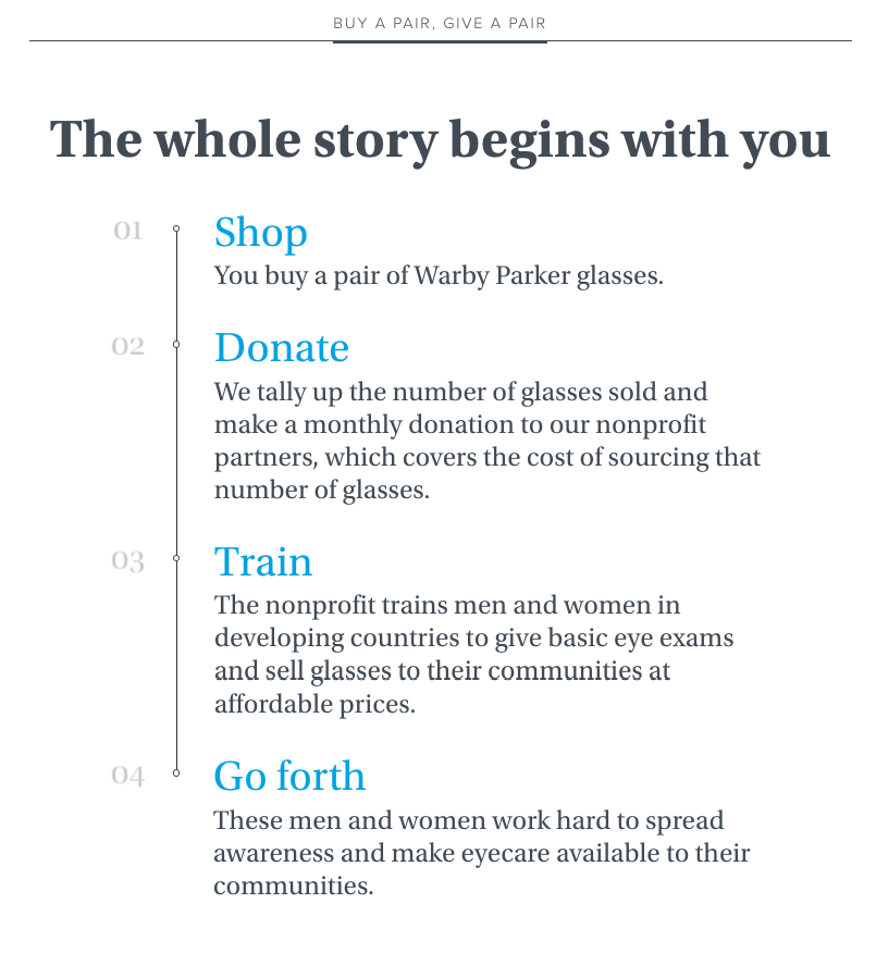 Warby Parker_buy a pair give a pair