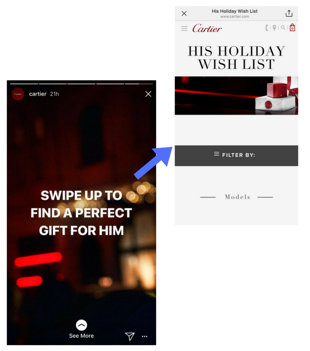 Cartier gift guide promotion ecommerce.png