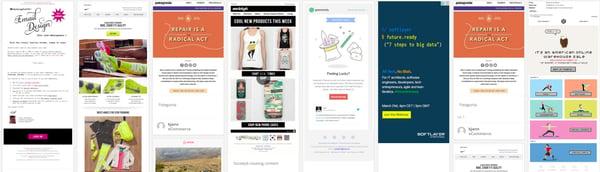 email newsletter exampels