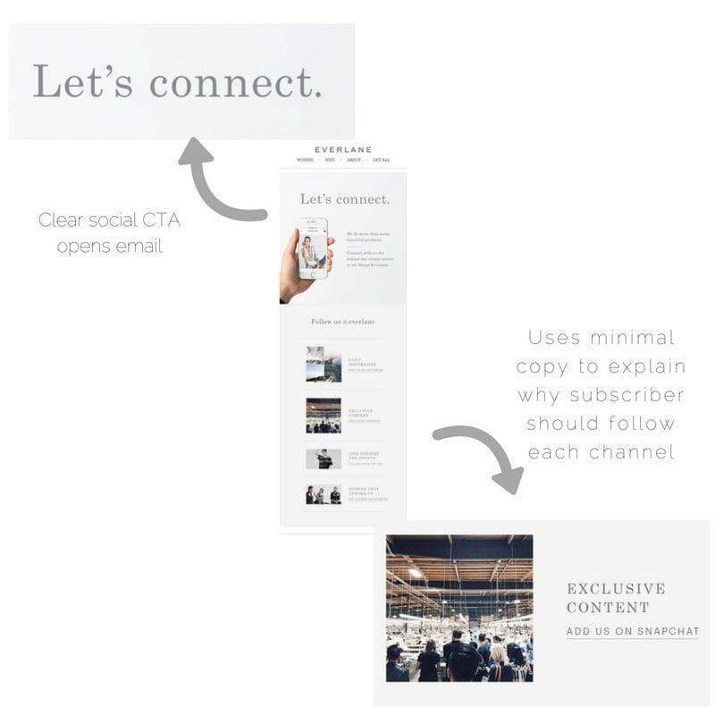 Everlane email marketing_social media promotion