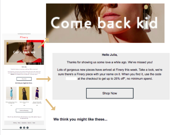 Finery_lapsed win back lifecycle marketing email .png