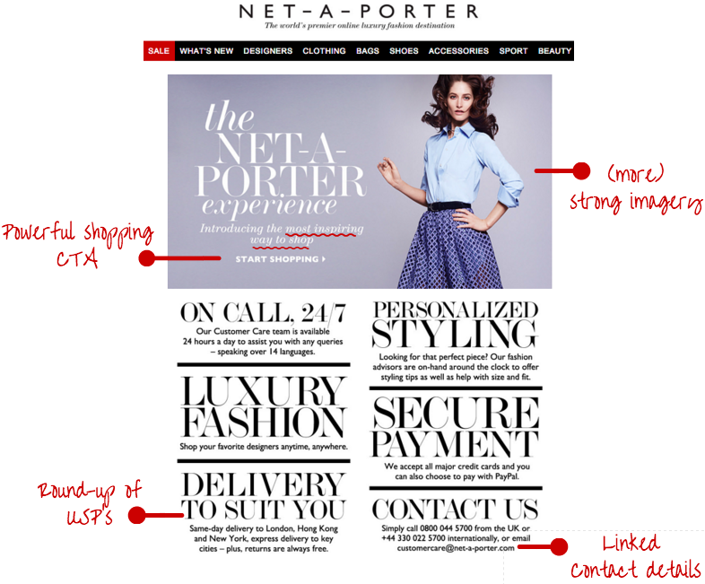 NET-A-PORTER welcome series