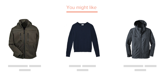 product recommendations ecommerce newsletter