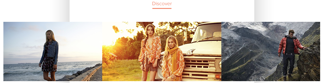 lifestyle imagery dynamic content ecommerce newsletter