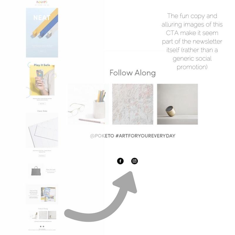 Poketo email marketing_social media promotion