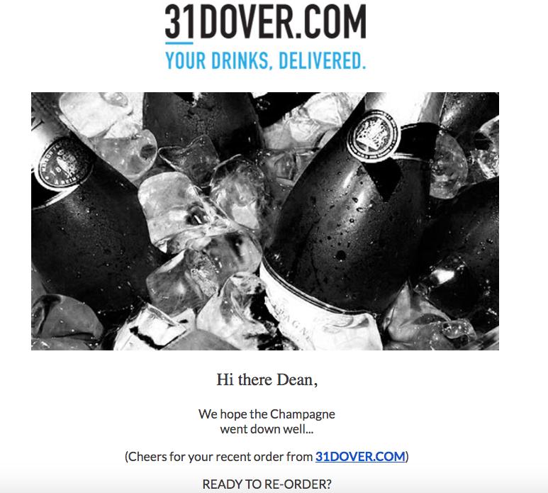 31 dover replensishment email