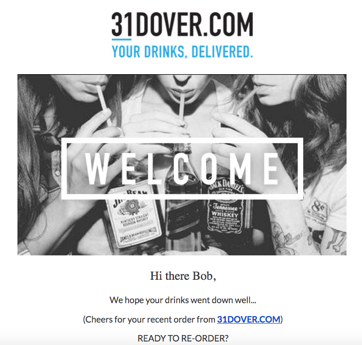 31 dover personalised replenishment email_lifecycle stage