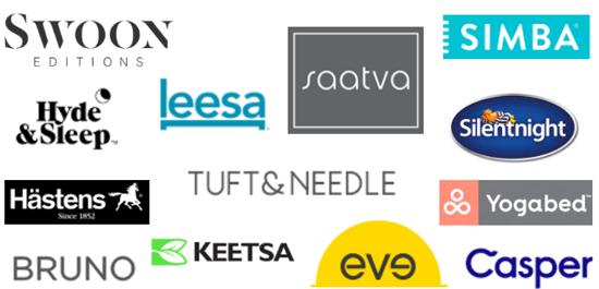 logos for online mattress companies