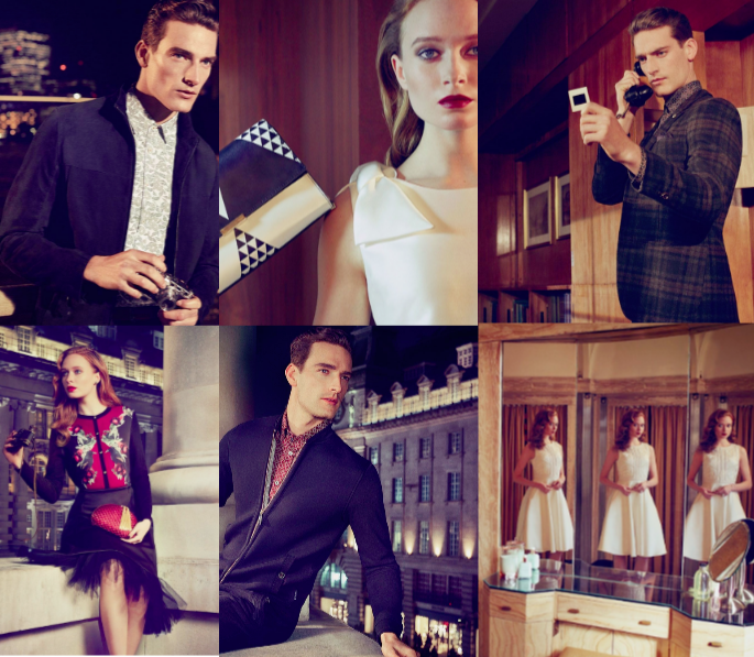 Ted Baker AW16 Lookbook