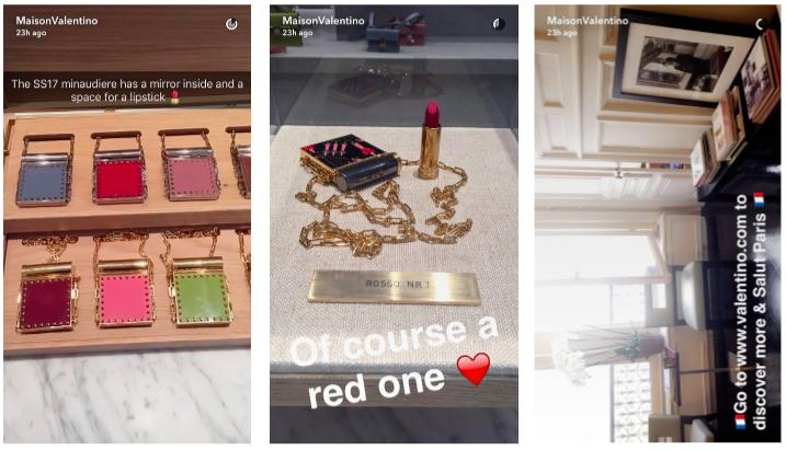 Valentino Snapchat