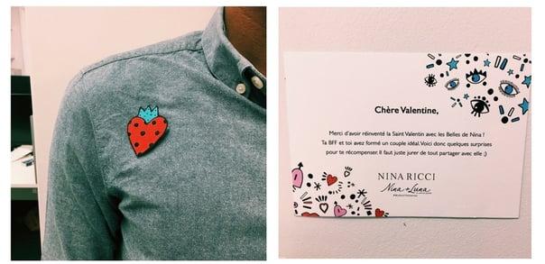 Nina Ricci cross-channel campaign