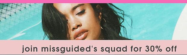 good ecommerce call-to-action example MISSGUIDED
