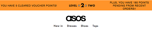 asos loyalty tier