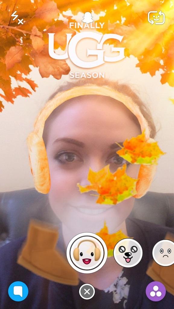 UGG Snapchat
