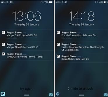 Regent Street app