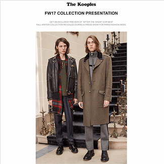 The Kooples email gif