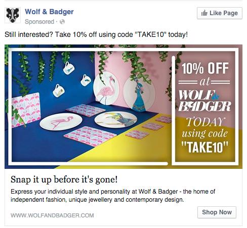 Wolf & Badger custom audiences